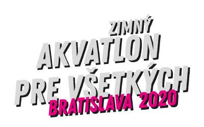 Zimný akvatlon pre všetkých Bratislava 2020